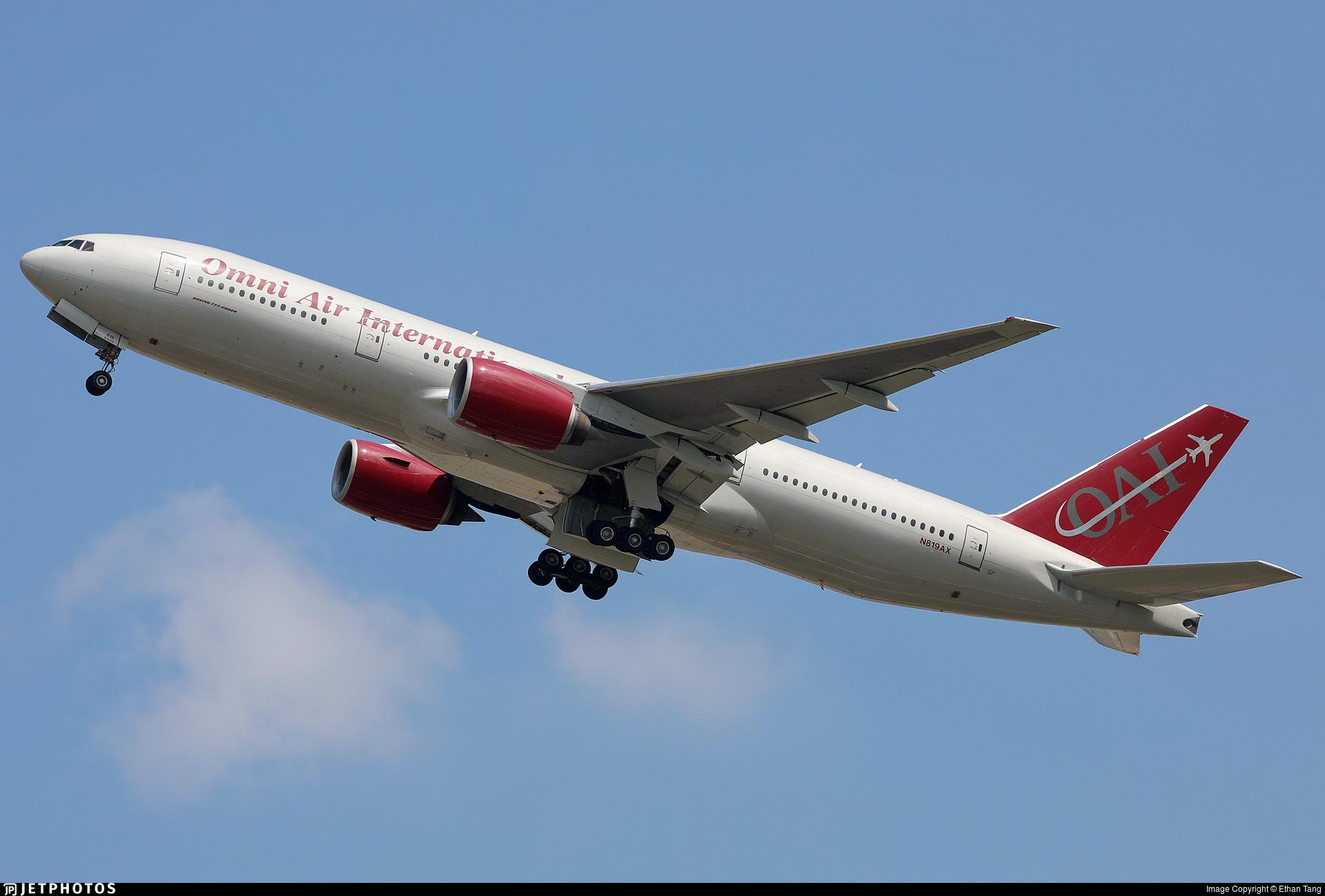 N819AX - Boeing 777-2U8(ER) - Omni Air International (OAI)