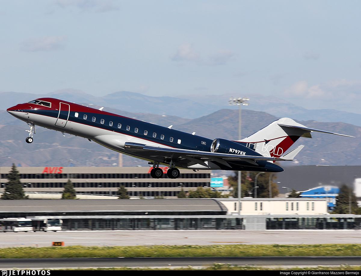 N797KK - Bombardier BD-700-1A10 Global Express - Private