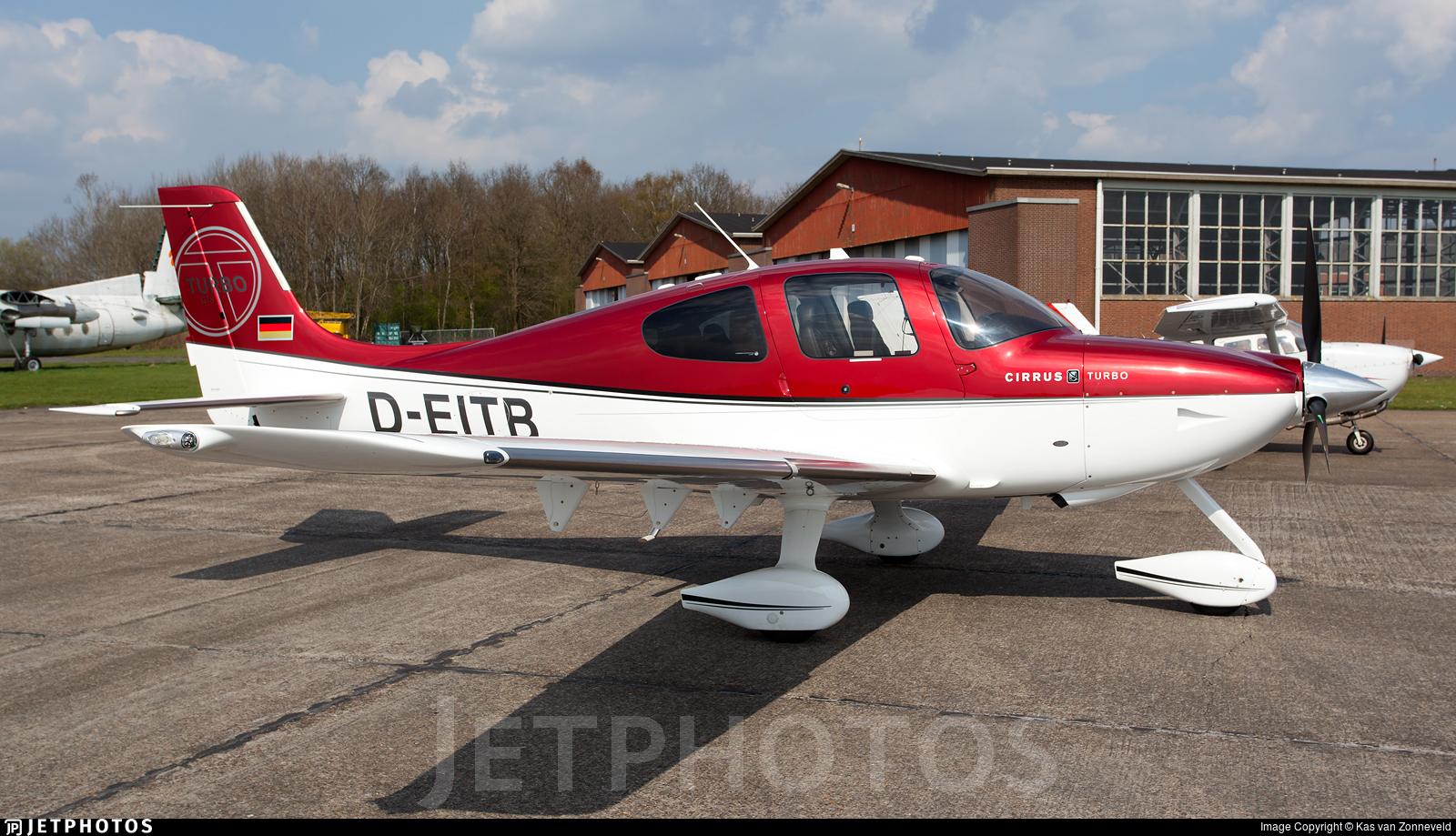 D-EITB - Cirrus SR22-GTS Turbo - Private