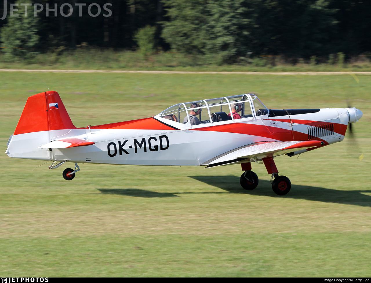OK-MGD - Zlin 226MS - Private