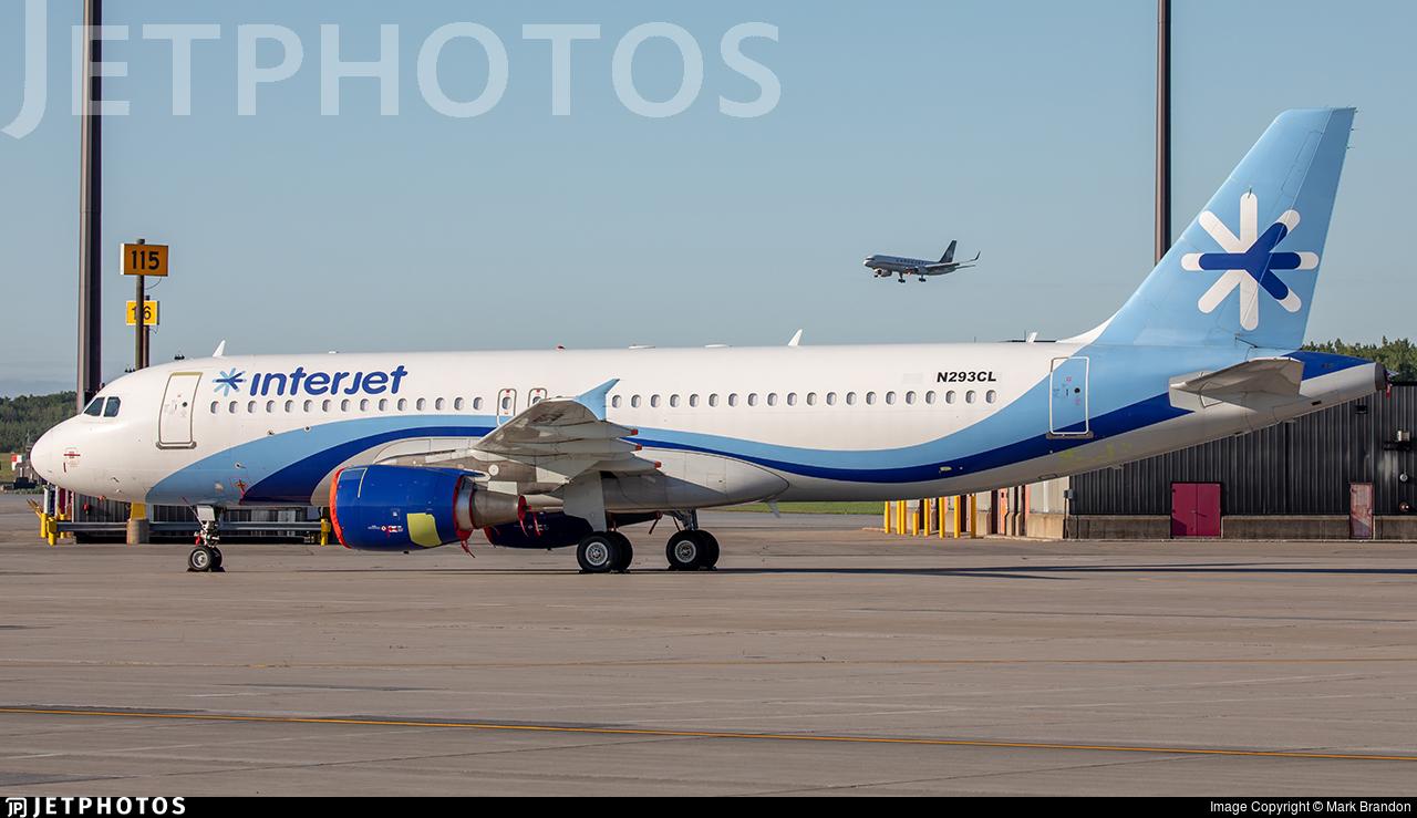 N293CL - Airbus A320-214 - Interjet