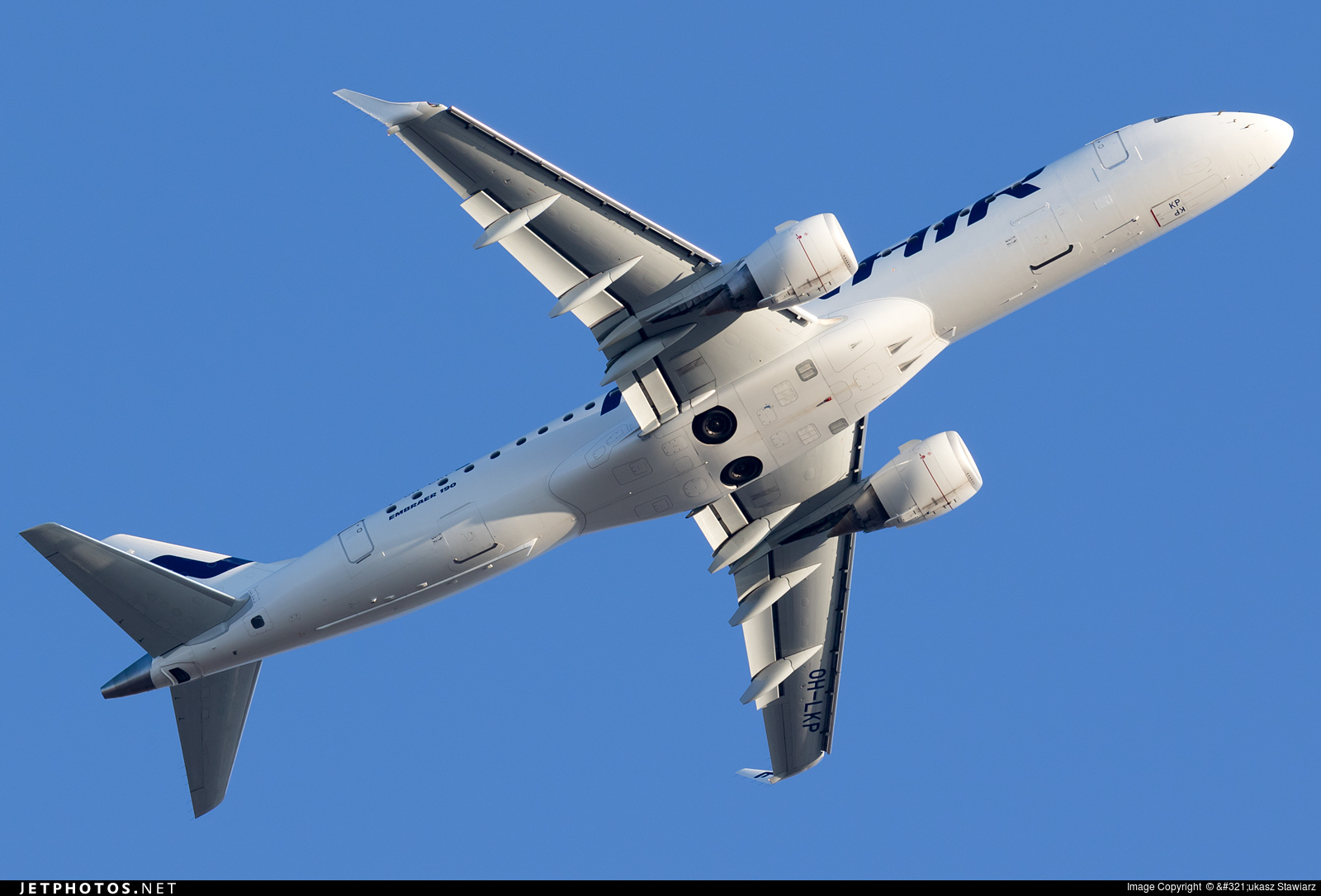 OH-LKP - Embraer 190-100LR - Finnair