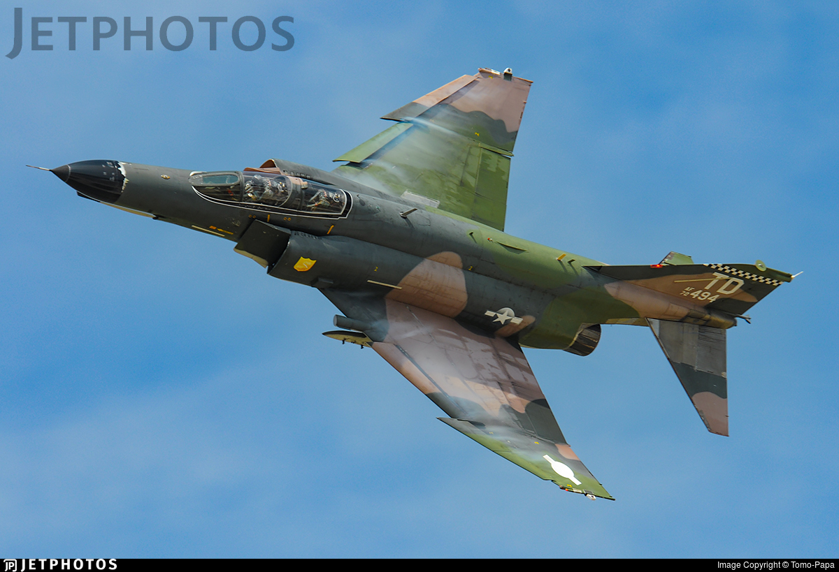72-0494 - McDonnell Douglas QF-4E Phantom II - United States - US Air Force (USAF)