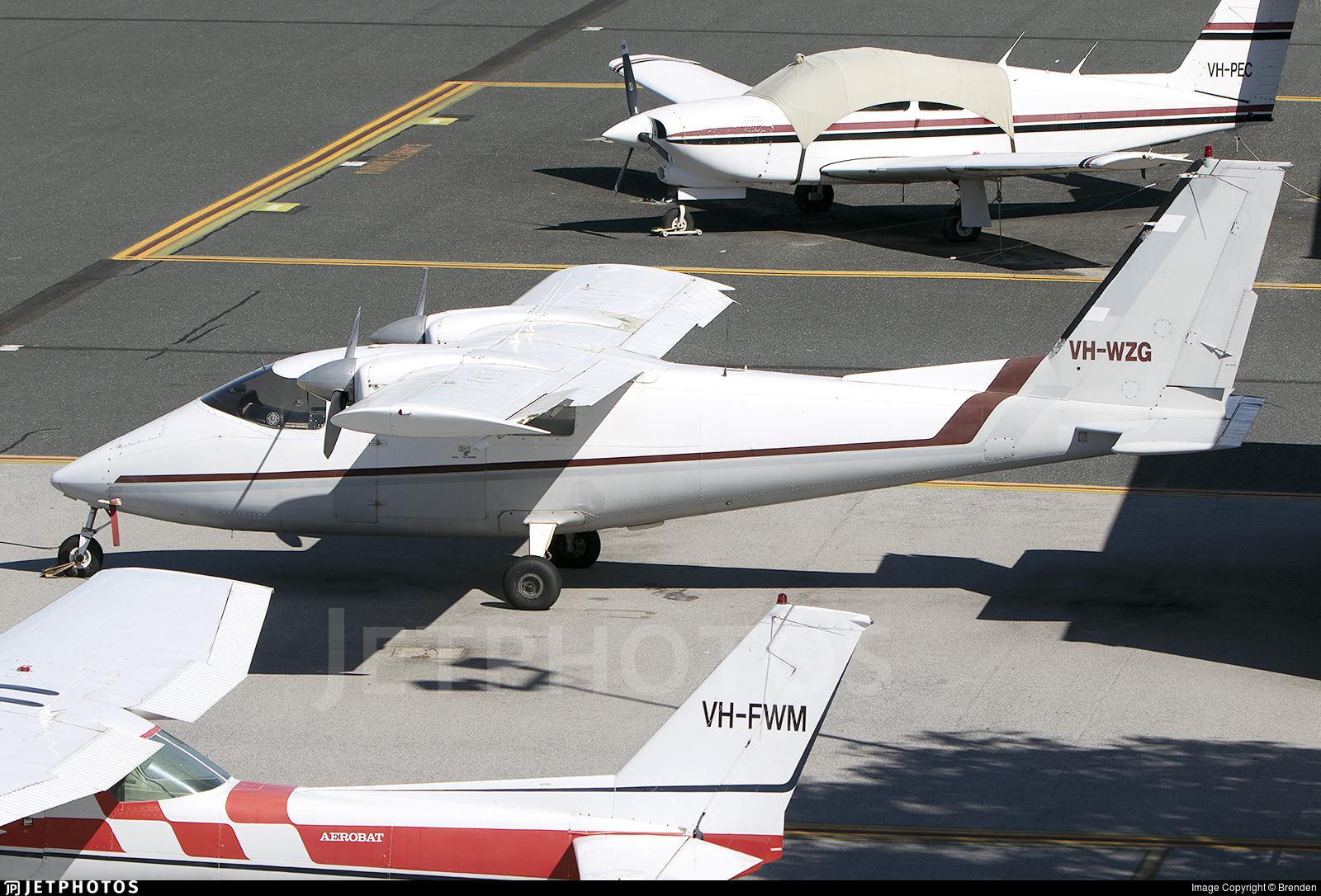VH-WZG - Partenavia P.68B Victor - Private
