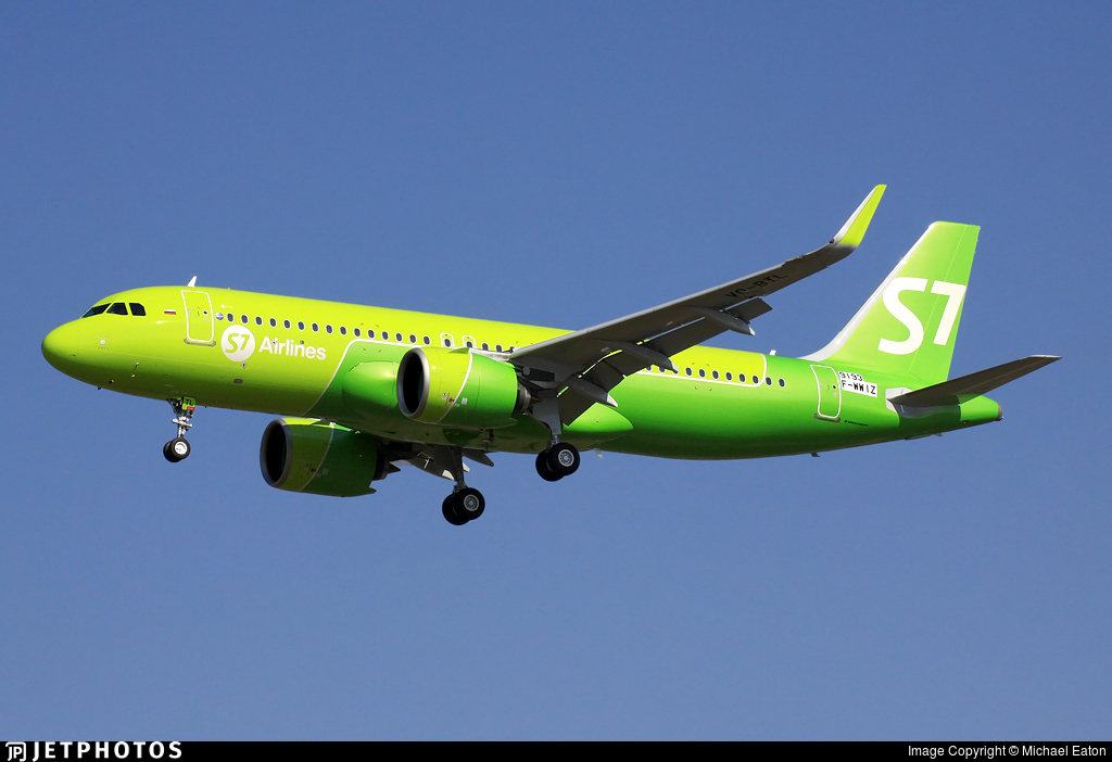 F-WWIZ - Airbus A320-271N - S7 Airlines