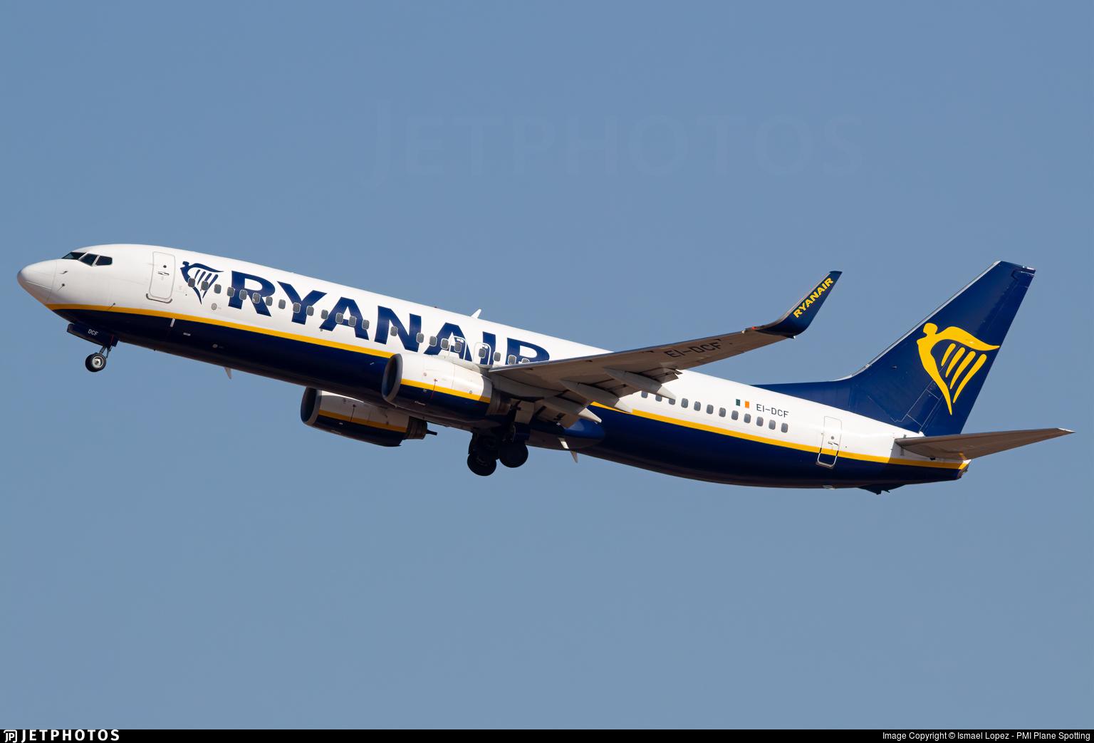 EI-DCF - Boeing 737-8AS - Ryanair