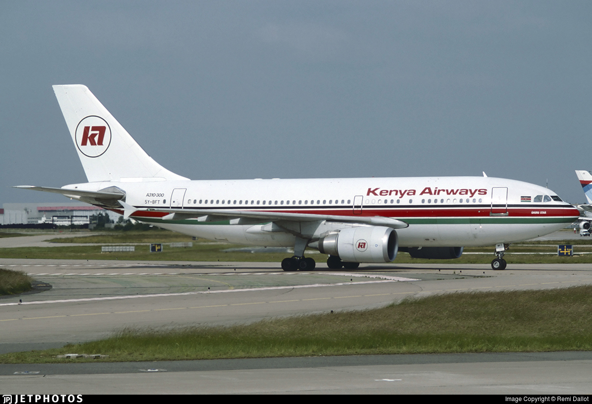 5Y-BFT - Airbus A310-304 - Kenya Airways