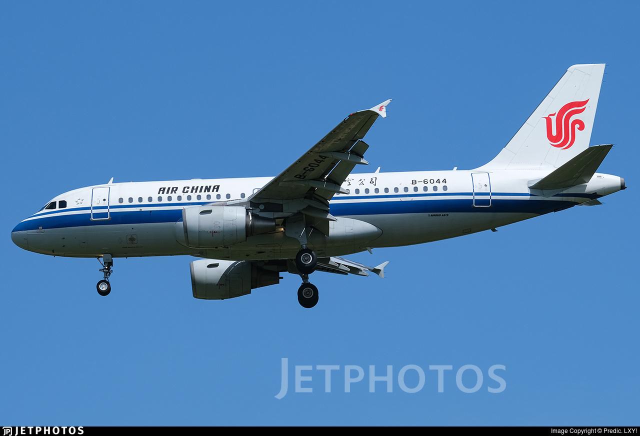 B-6044 - Airbus A319-115 - Air China
