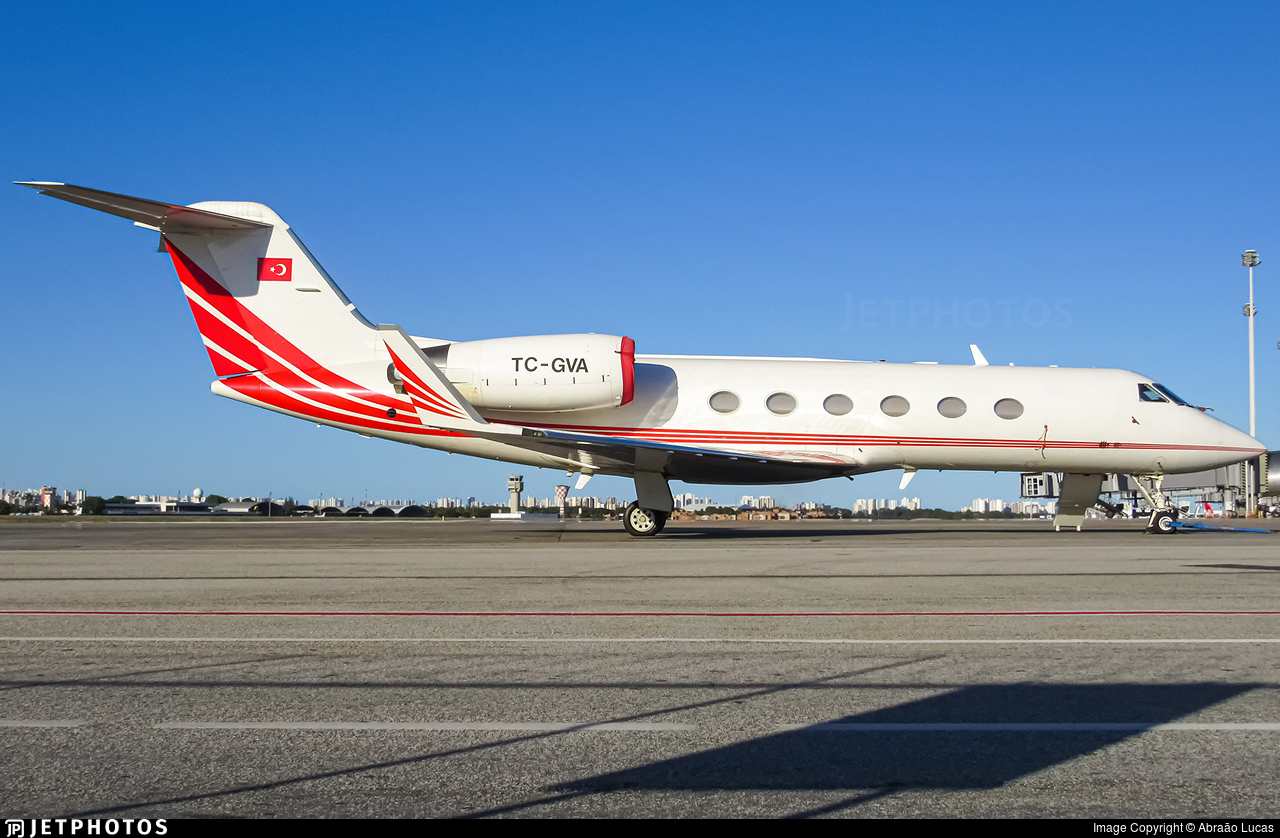 TC-GVA - Gulfstream G-IV - Private