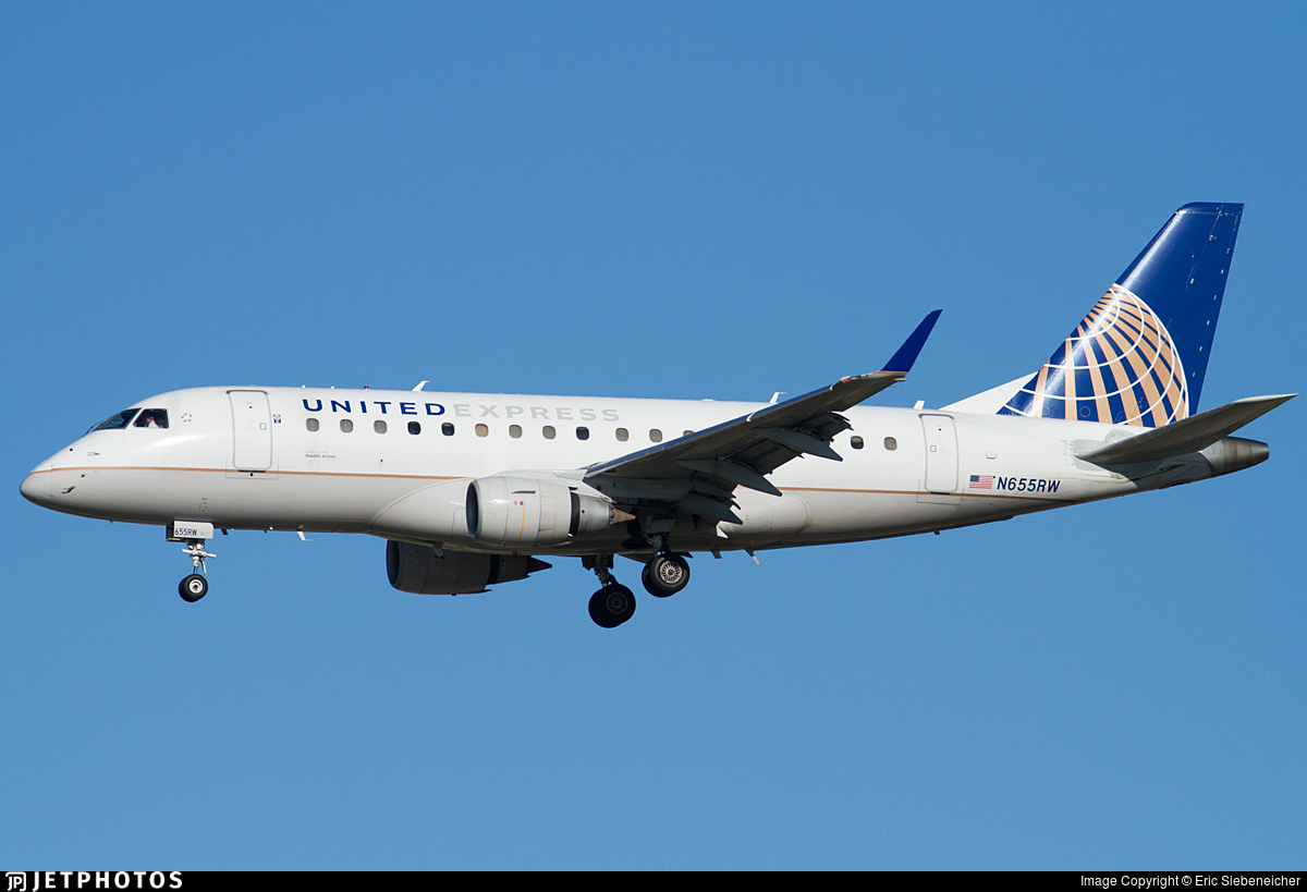 N655RW - Embraer 170-100SE - United Express (Republic Airlines)
