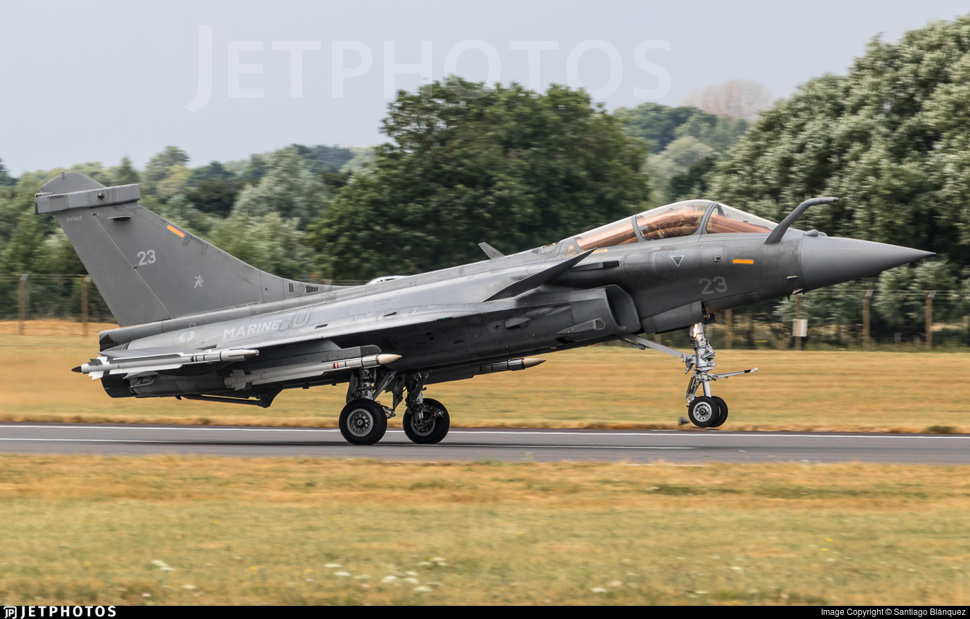 23 | Dassault Rafale M | France - Navy | Santiago Blánquez