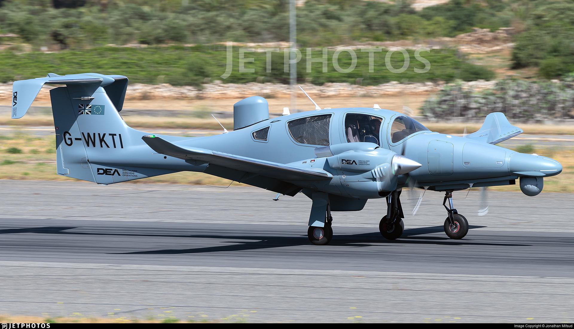 G-WKTI - Diamond Aircraft DA-62 MPP - Diamond Executive Aviation