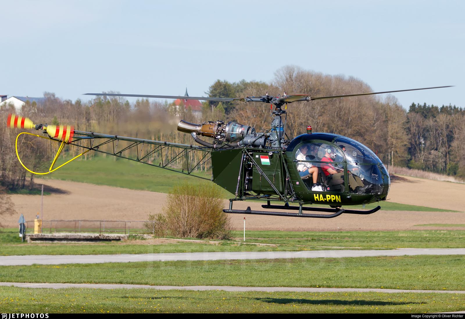 HA-PPN - Aérospatiale SA 318C Alouette II - Hidroplan Nord