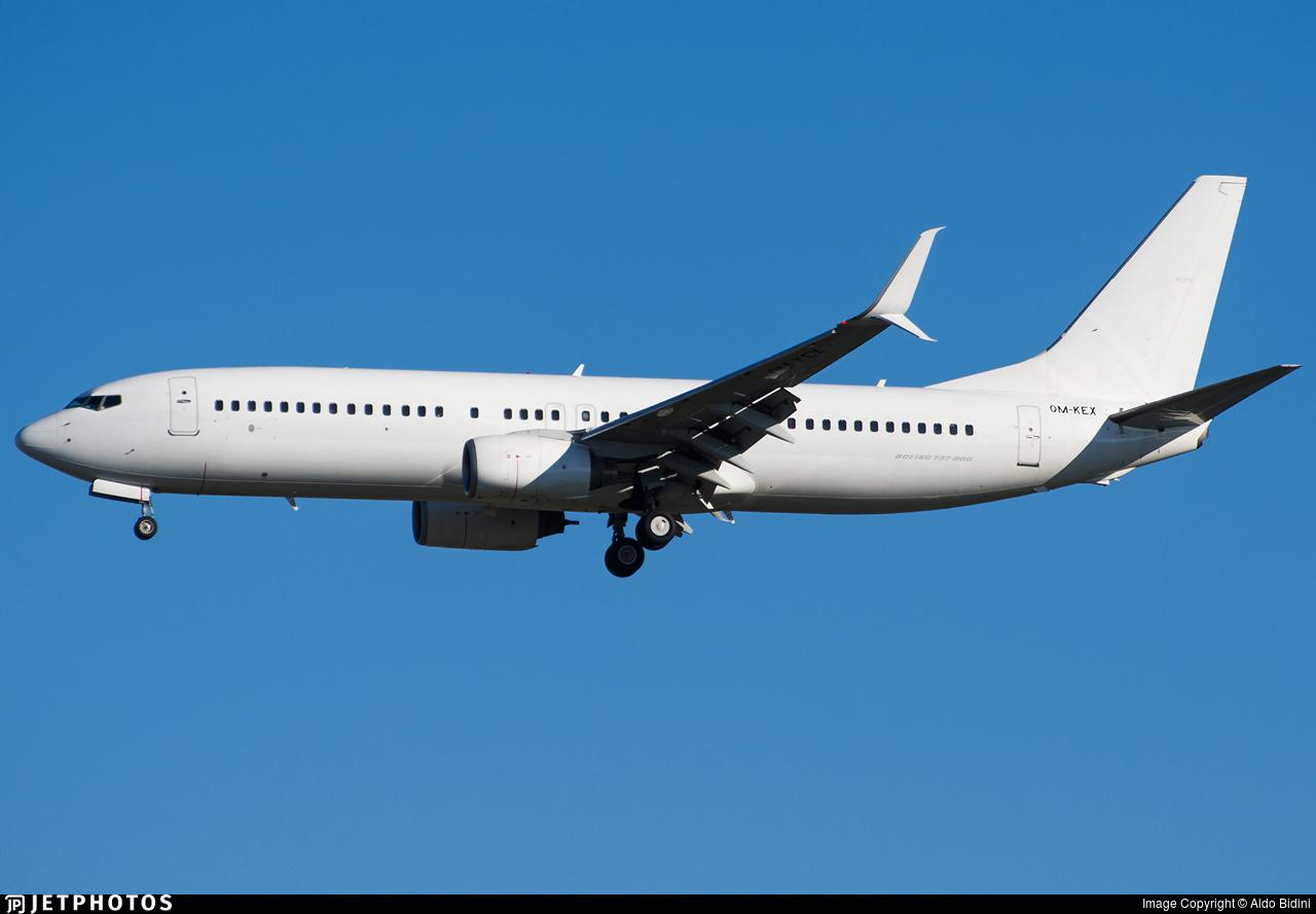 OM-KEX - Boeing 737-8BK - Air Explore