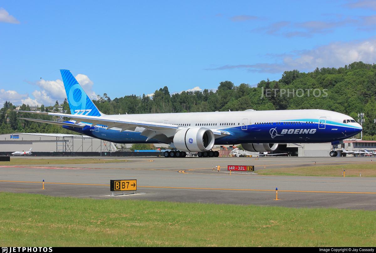 N779XX - Boeing 777-9X - Boeing Company