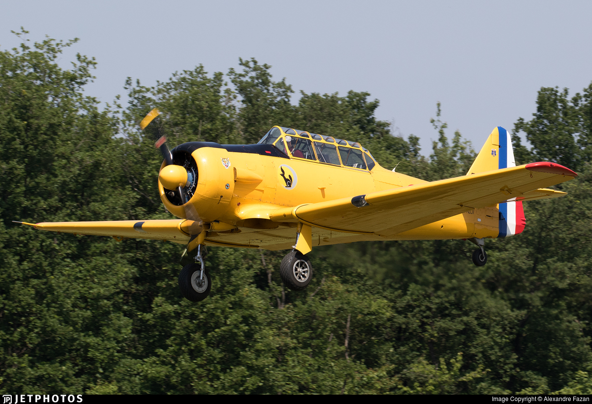 F-AZCV - North American T-6G Texan - Private