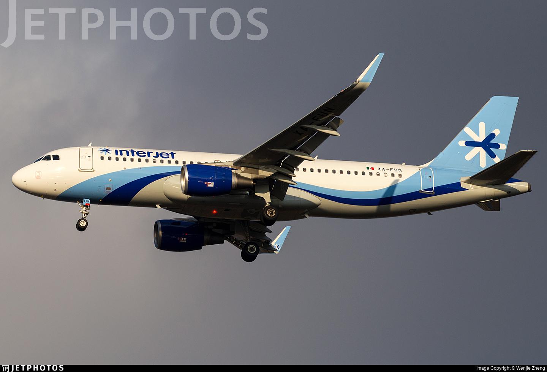 XA-FUN - Airbus A320-214 - Interjet