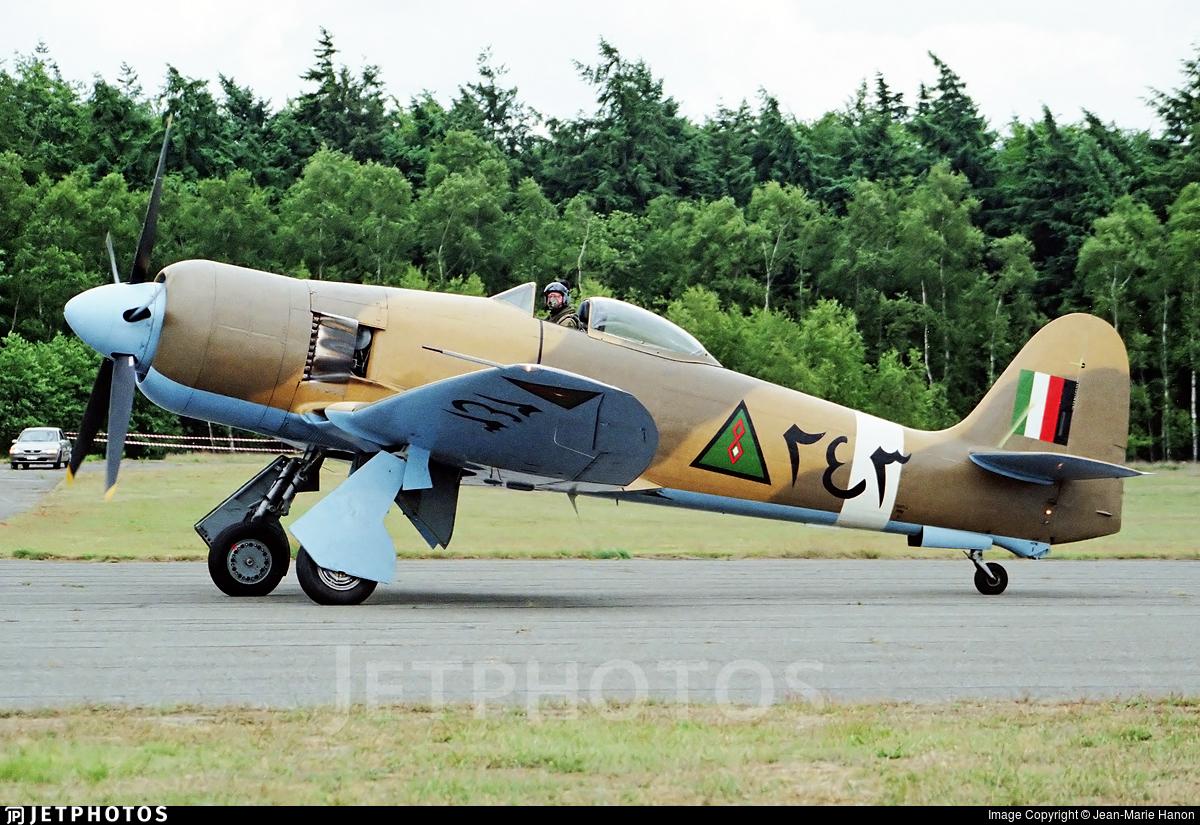 G-BTTA - Hawker Fury FB10 - Private