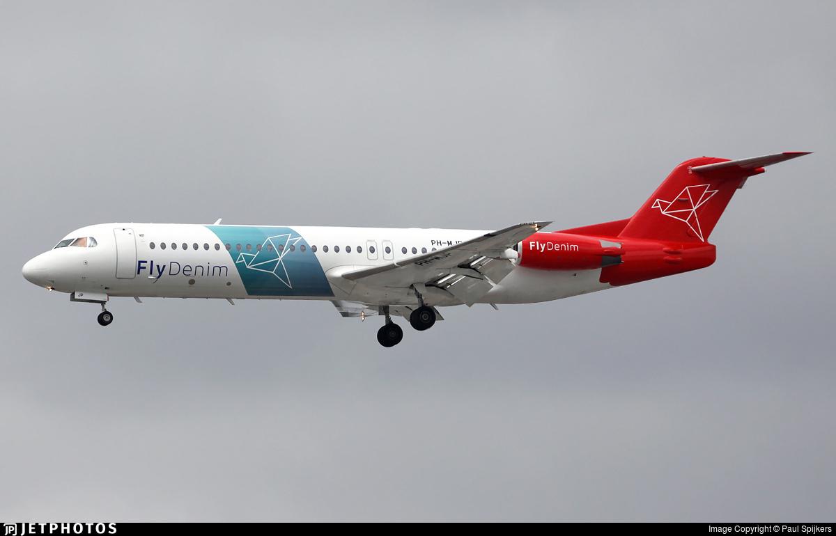 PH-MJP - Fokker 100 - FlyDenim
