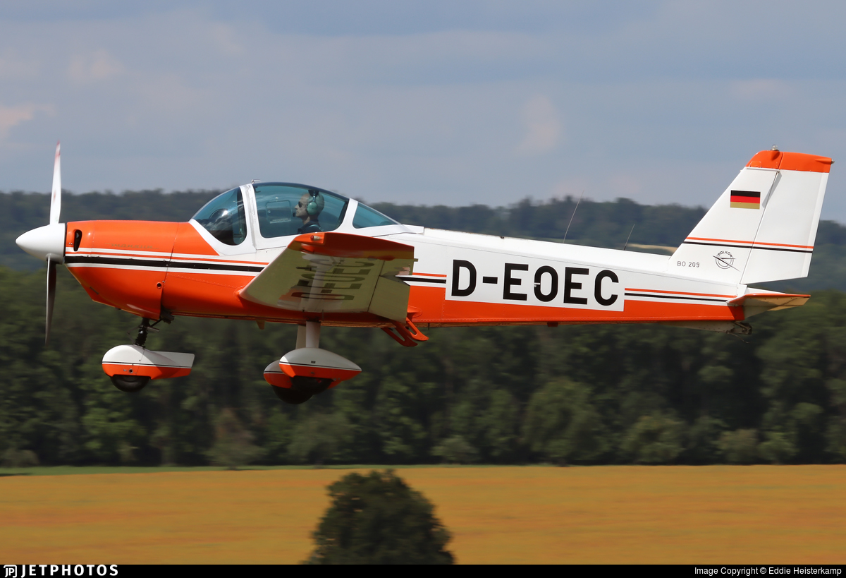 D-EOEC - Bolkow Bo.209 Monsun 150RV - Private