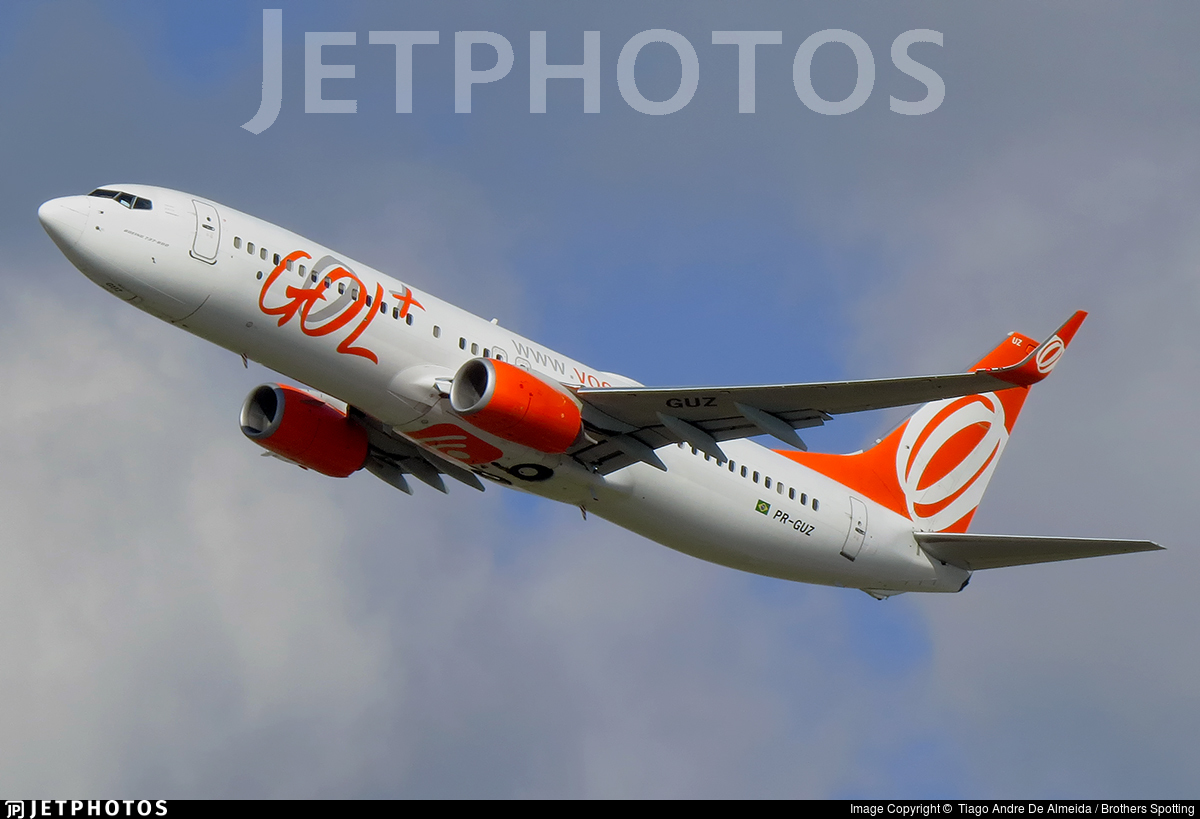 PR-GUZ - Boeing 737-8EH - GOL Linhas Aéreas