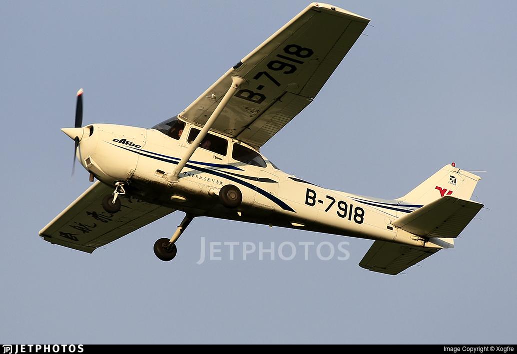 B-7918 - Cessna 172R Skyhawk - Civil Aviation Flight University of China