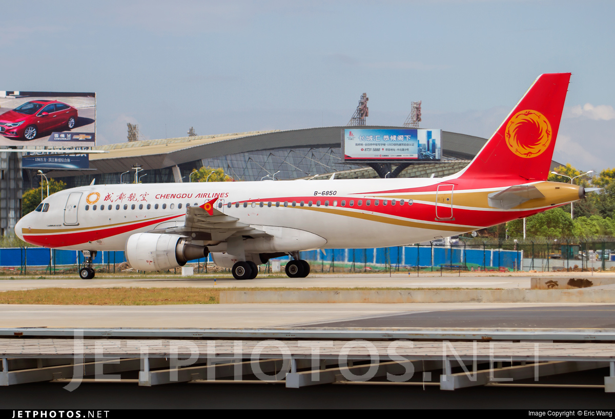 B-6850 - Airbus A320-214 - Chengdu Airlines