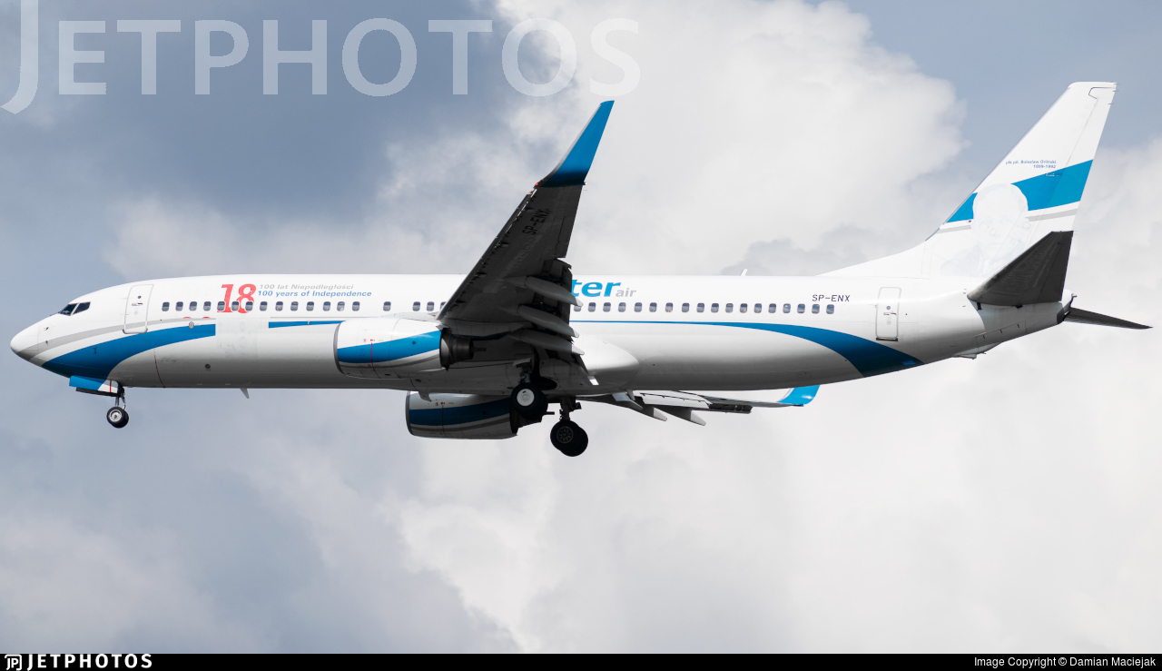 SP-ENX - Boeing 737-8Q8 - Enter Air