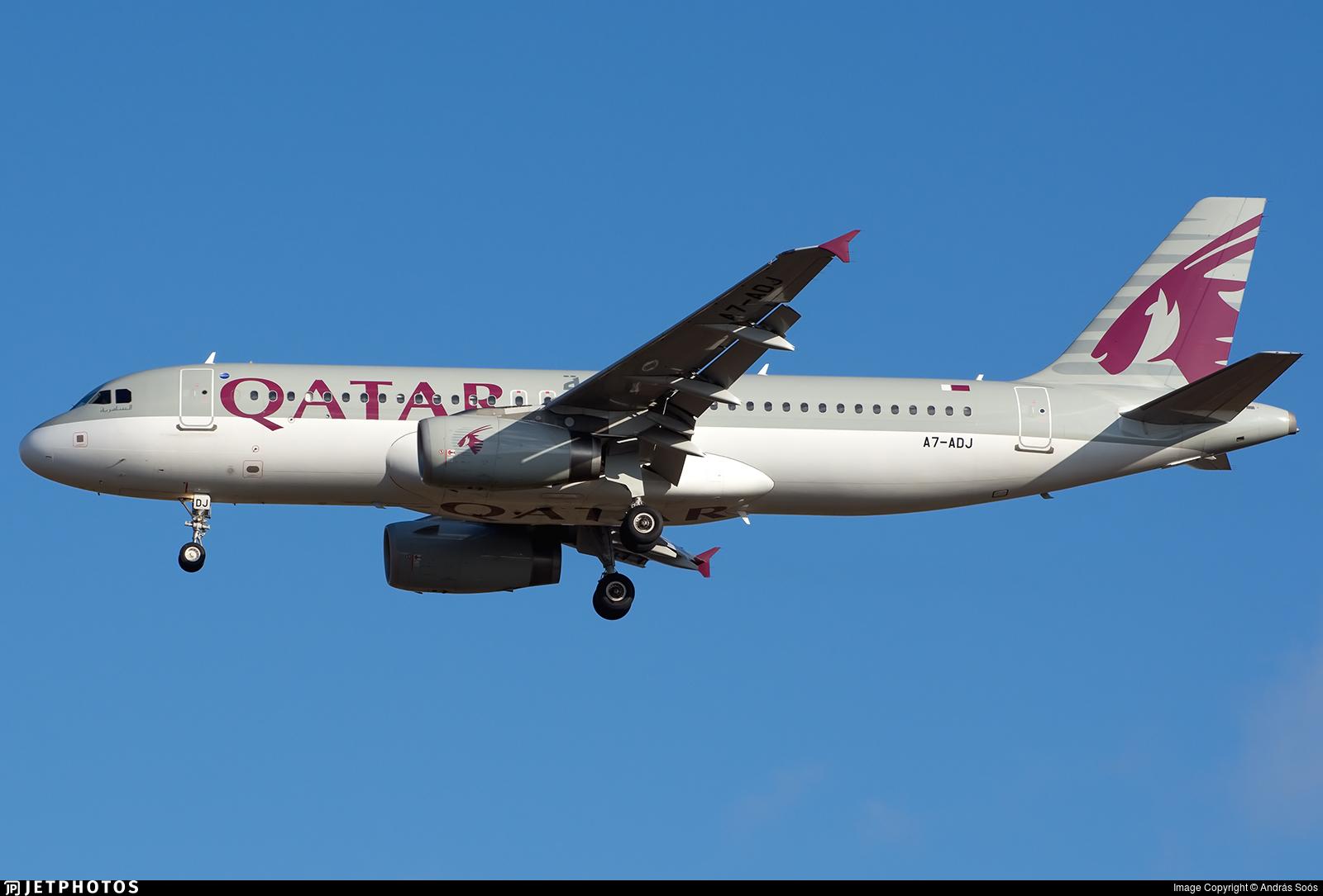A7-ADJ - Airbus A320-232 - Qatar Airways
