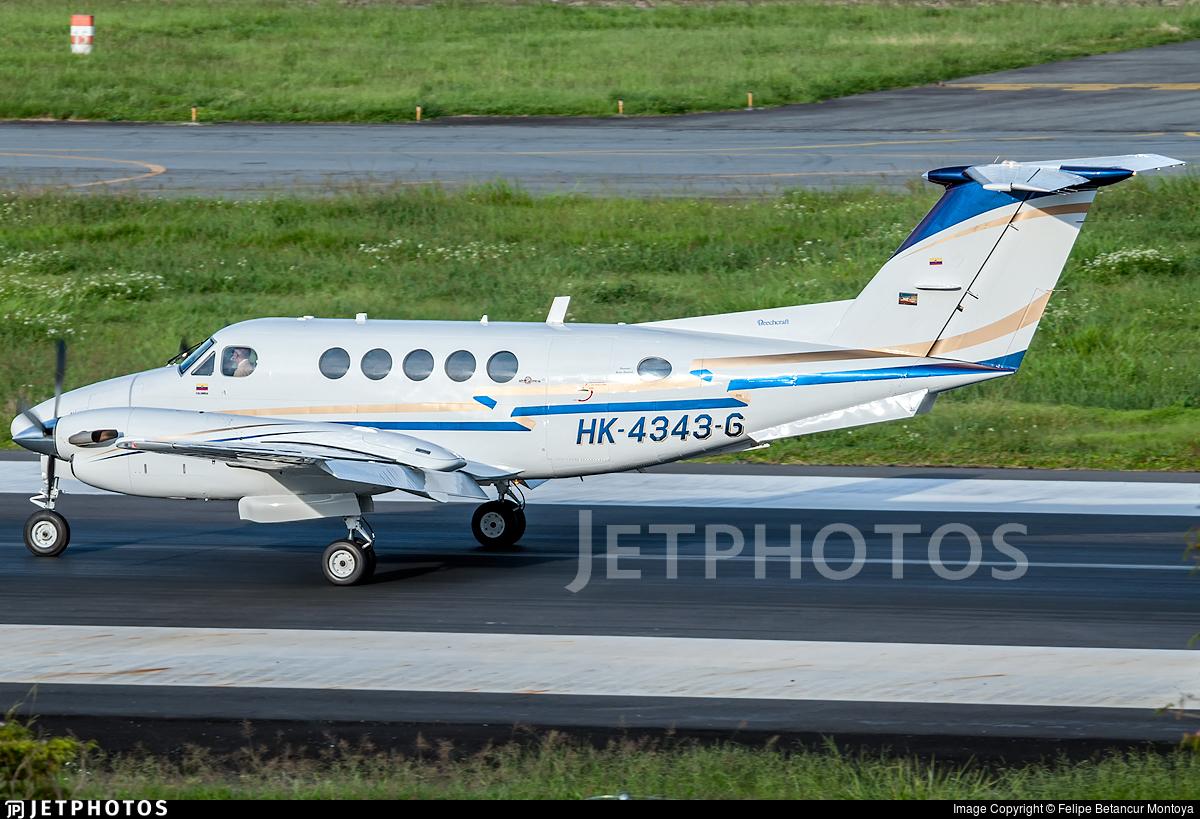 HK-4343-G - Beechcraft 200 Super King Air - Private