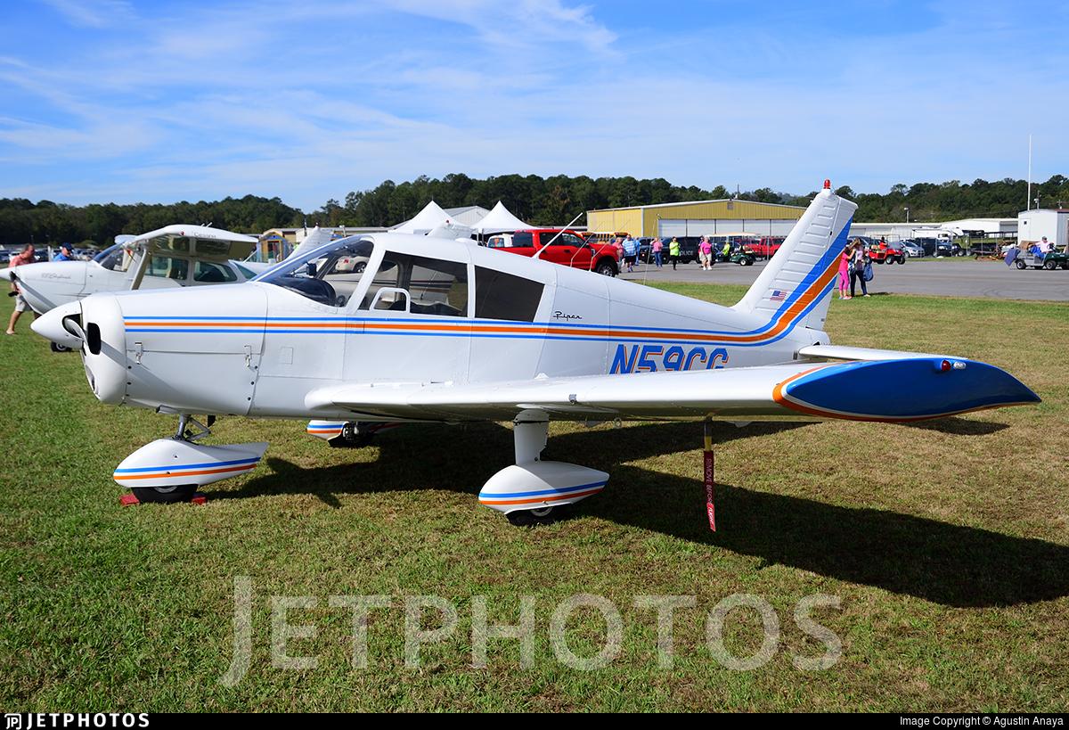 N59CG   Piper PA-28-140 Cherokee   Private   Agustin Anaya