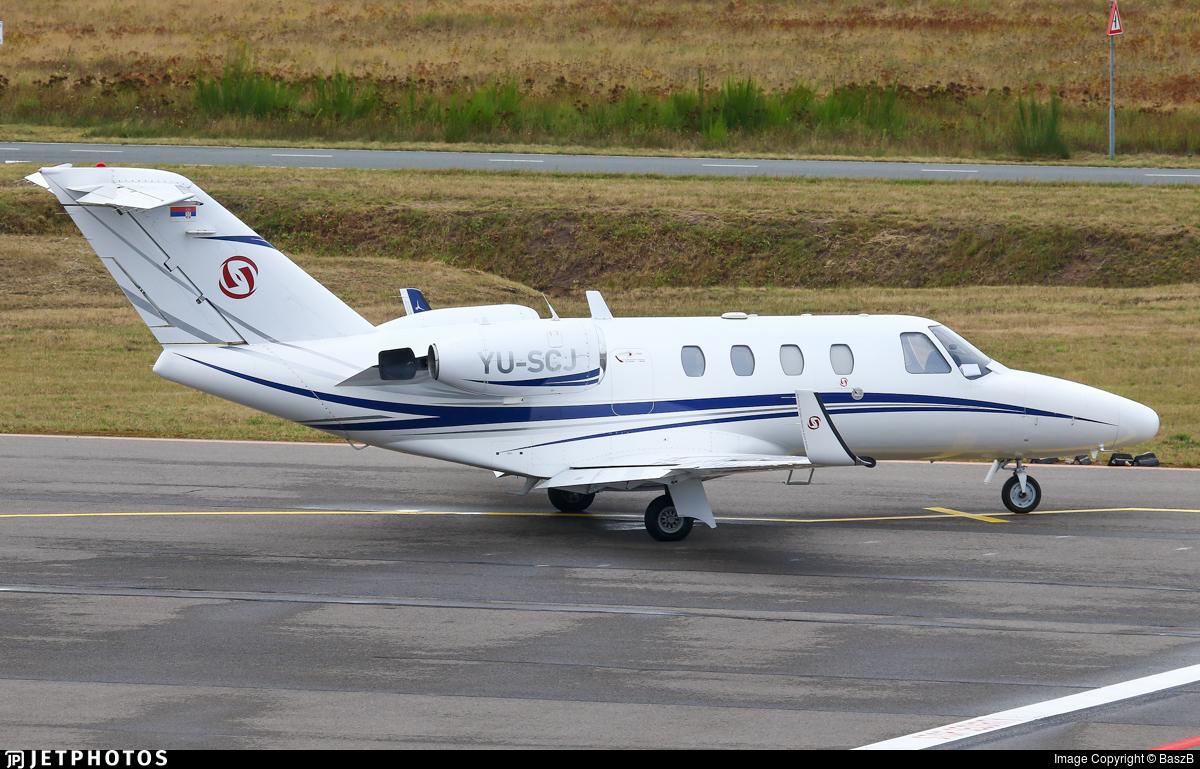 YU-SCJ - Cessna 525 Citationjet CJ1 - Prince Aviation