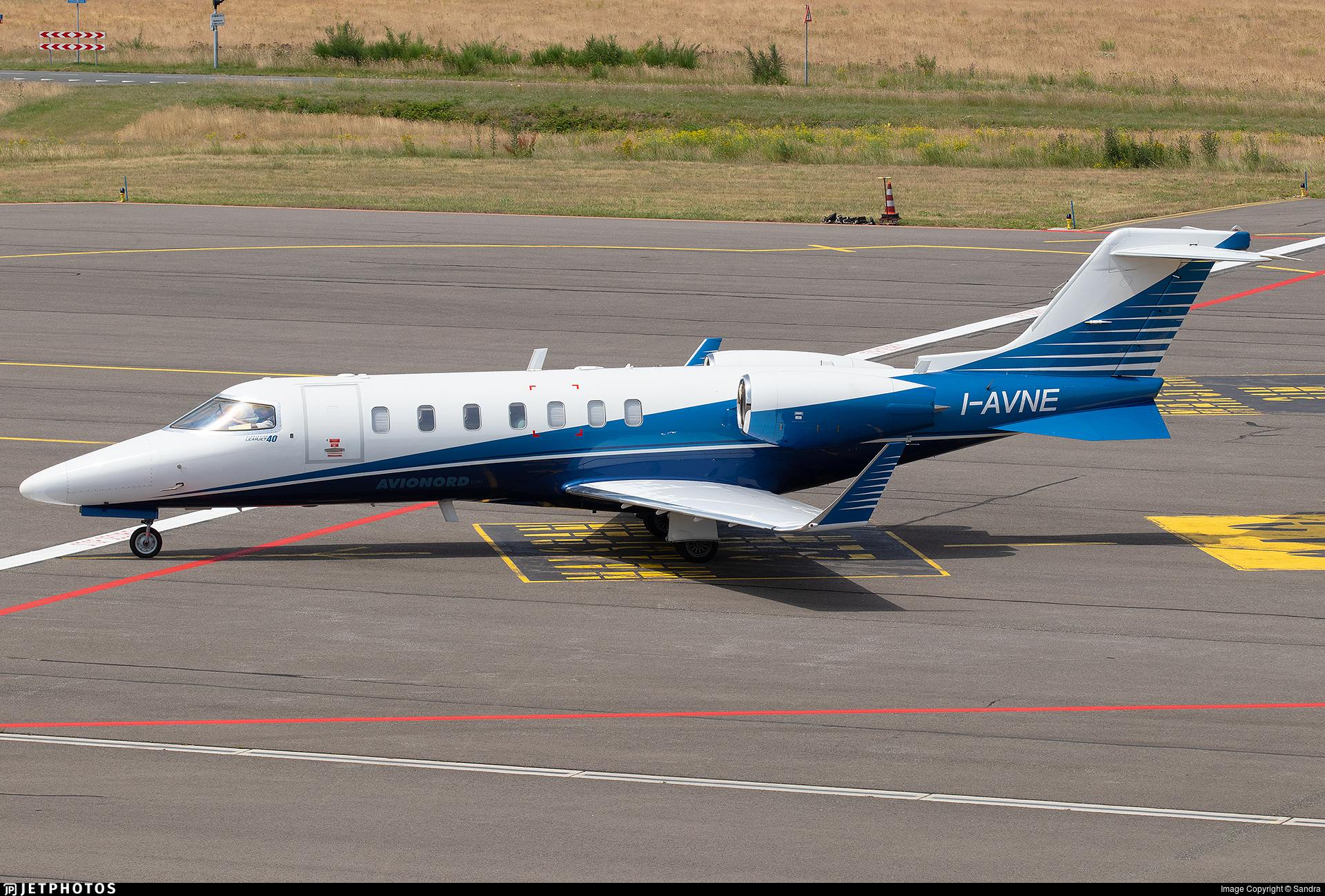 I-AVNE - Bombardier Learjet 40 - Avionord