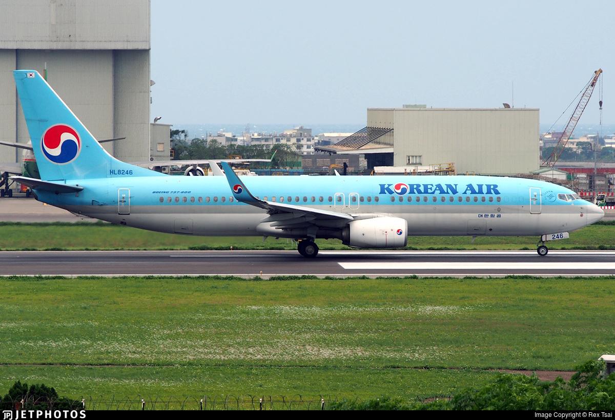 HL8246 - Boeing 737-8SH - Korean Air
