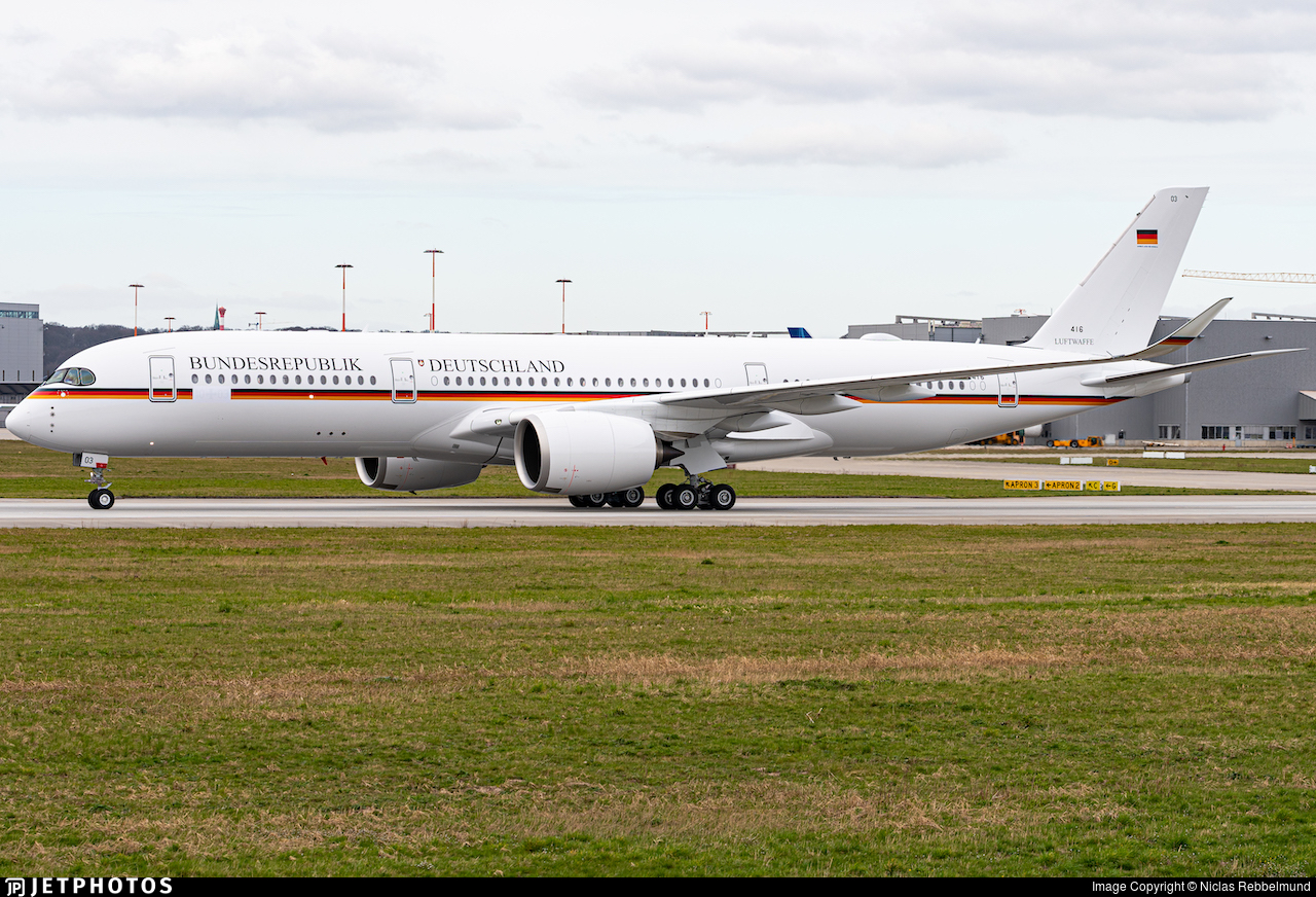 F-WZFF - Airbus A350-941 - Germany - Air Force