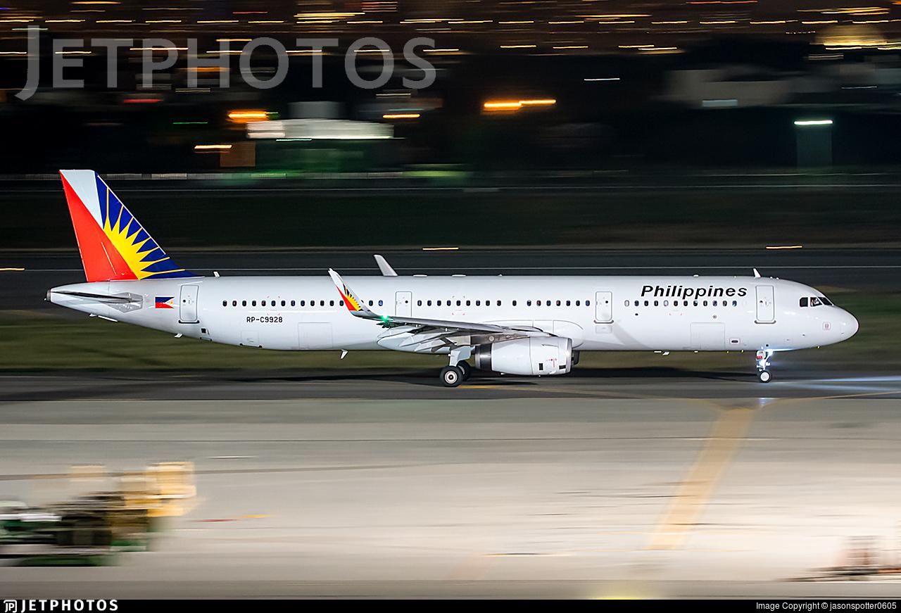RP-C9928 - Airbus A321-231 - Philippine Airlines