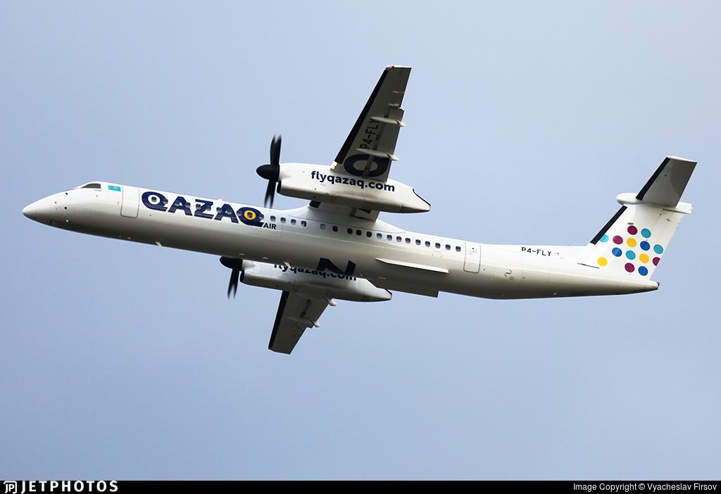 P4-FLY - Bombardier Dash 8-Q402 - Qazaq Air