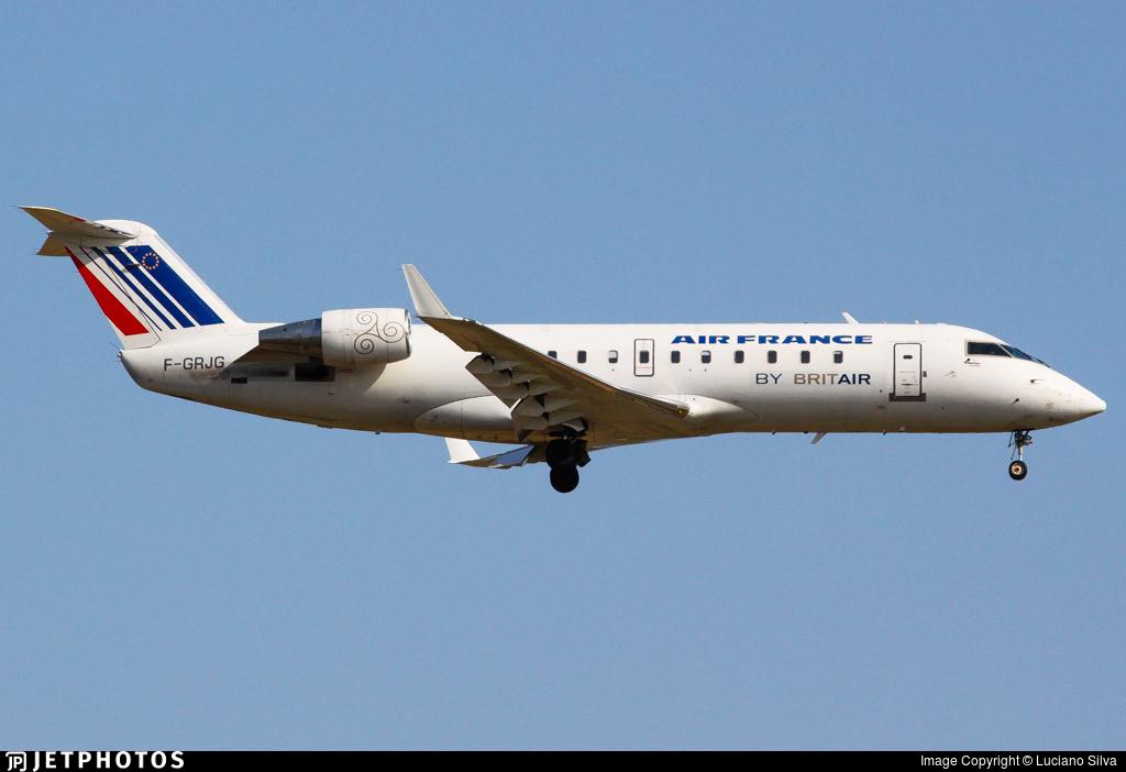 F-GRJG - Bombardier CRJ-100ER - Air France (Brit Air)