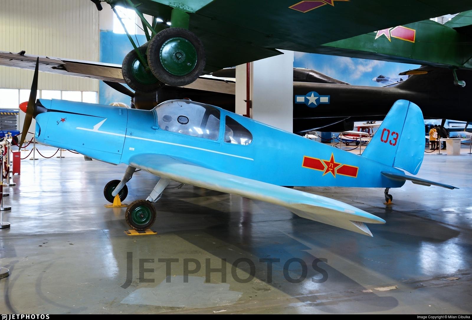 03 - Benes-Mraz M.1C Sokol - China - Air Force