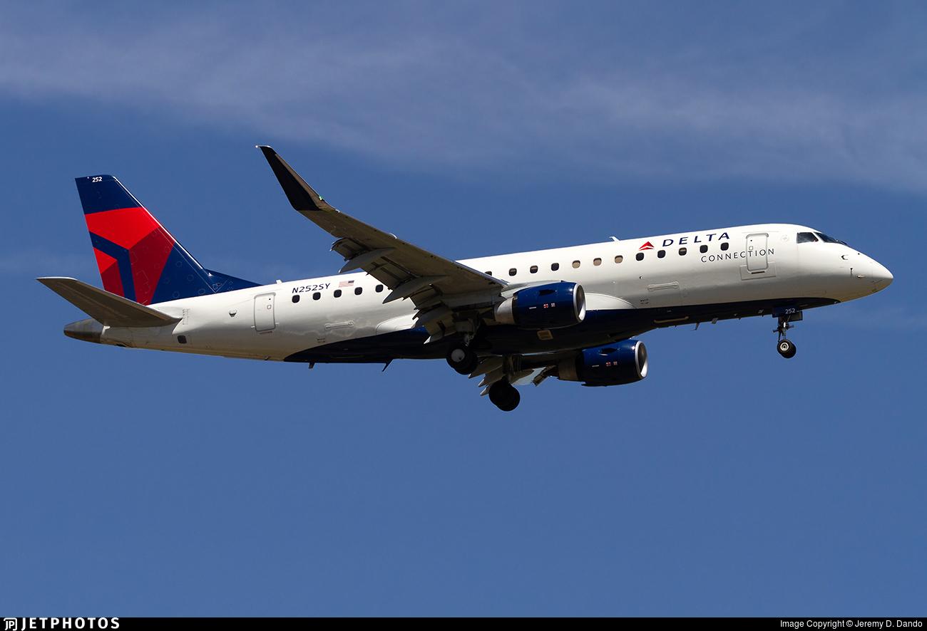 N252SY - Embraer 170-200LR - Delta Connection (SkyWest Airlines)
