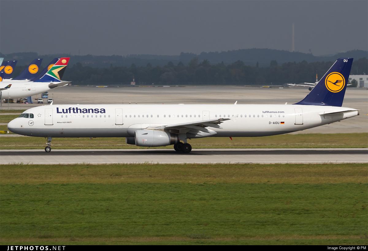 D-AIDU - Airbus A321-231 - Lufthansa