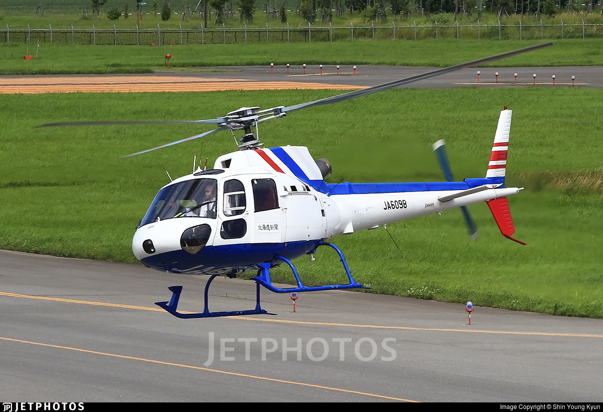 JA6098 - Eurocopter AS 350B2 Ecureuil - Private