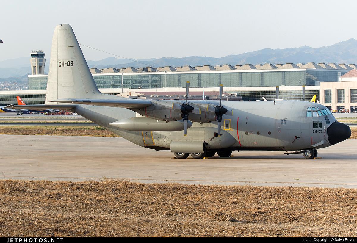 CH-03 - Lockheed C-130H Hercules - Belgium - Air Force
