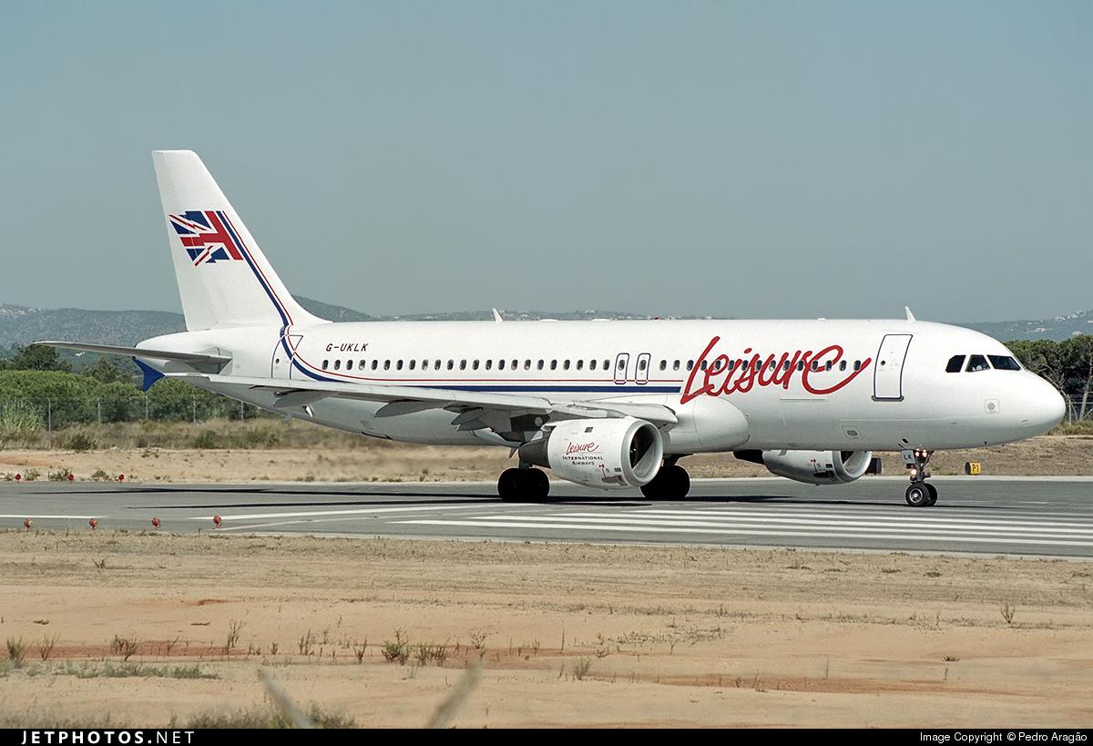 G-UKLK - Airbus A320-211 - Leisure International Airways
