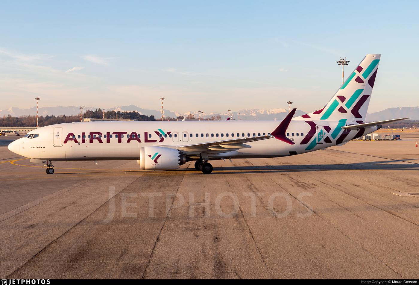 EI-GGK - Boeing 737-8 MAX - Air Italy