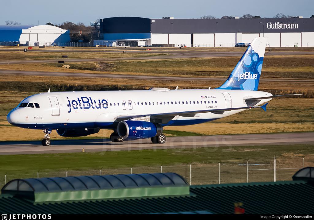 N563JB - Airbus A320-232 - jetBlue Airways
