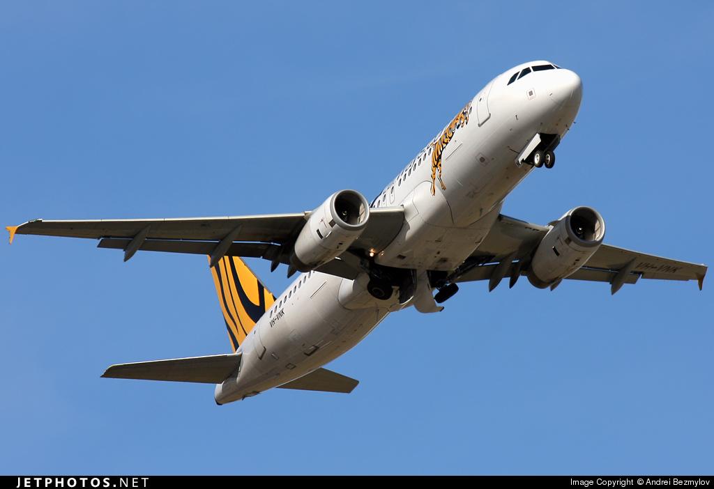 VH-VNK - Airbus A320-232 - Tiger Airways