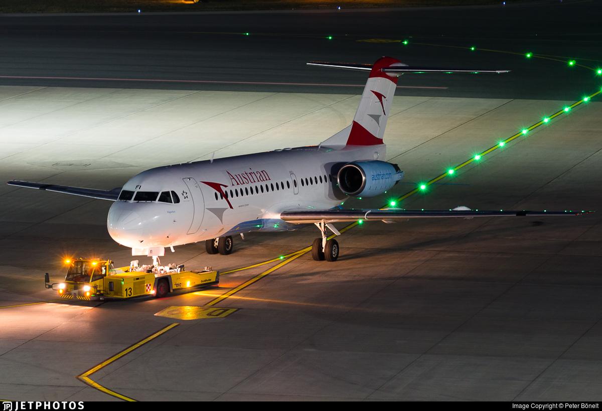 OE-LFI - Fokker 70 - Austrian Airlines (Tyrolean Airways)