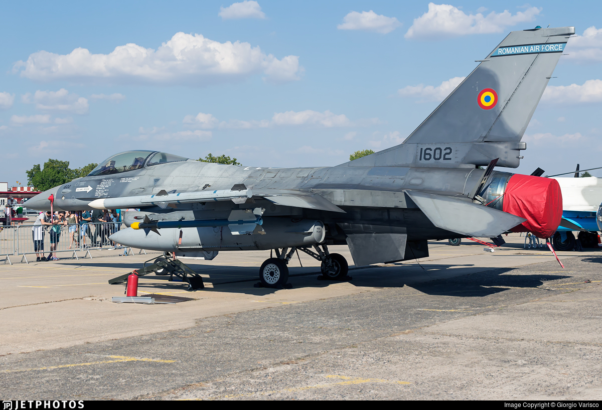 1602 - General Dynamics F-16AM Fighting Falcon - Romania - Air Force