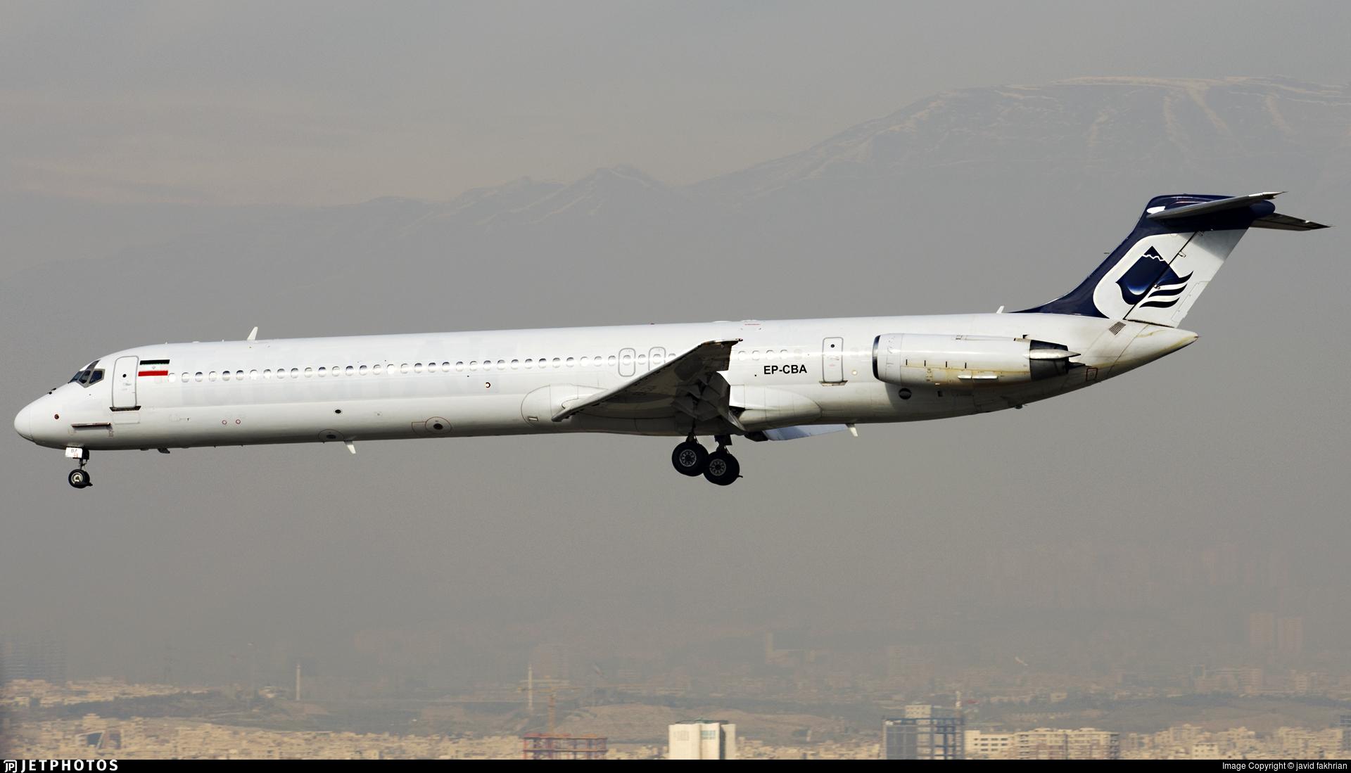 EP-CBA - McDonnell Douglas MD-82 - Taftan Air
